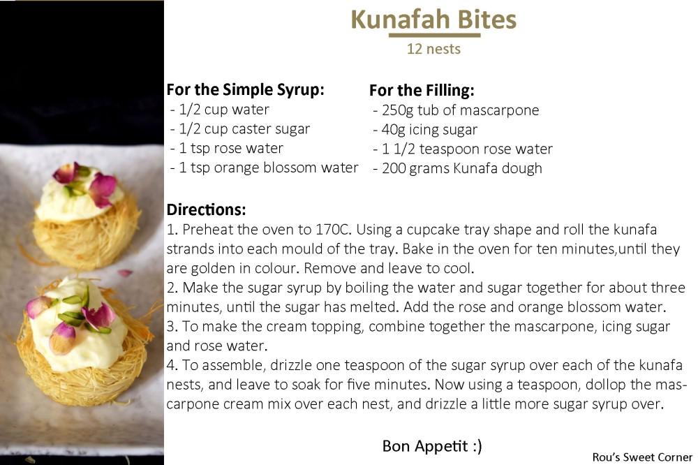 Kunafa Bites